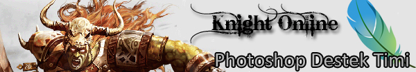 Knight Online Photoshop Destek Timi